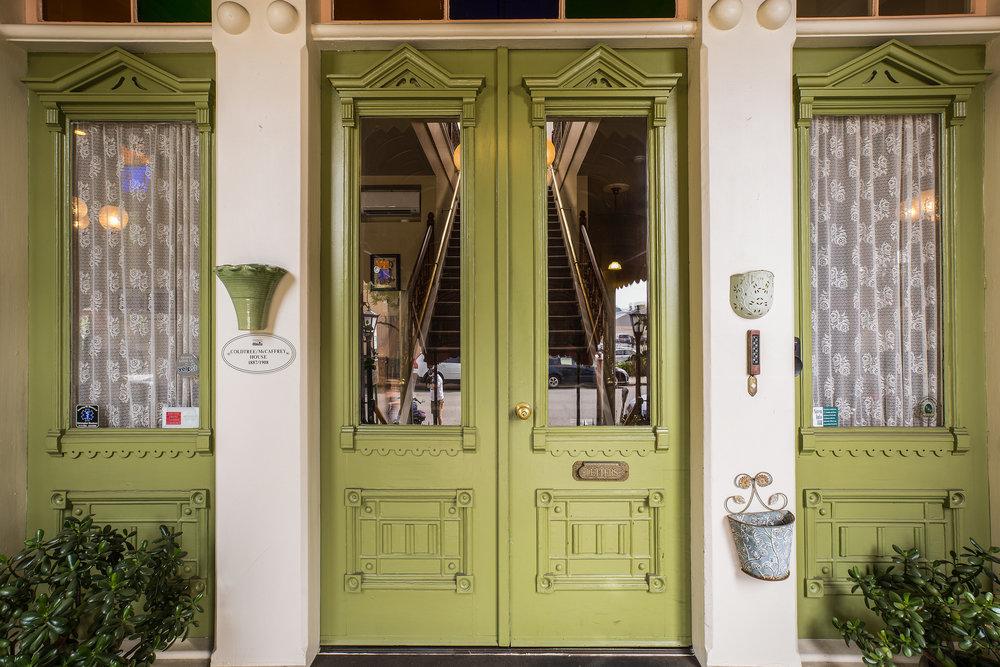 Garden Street Inn doors