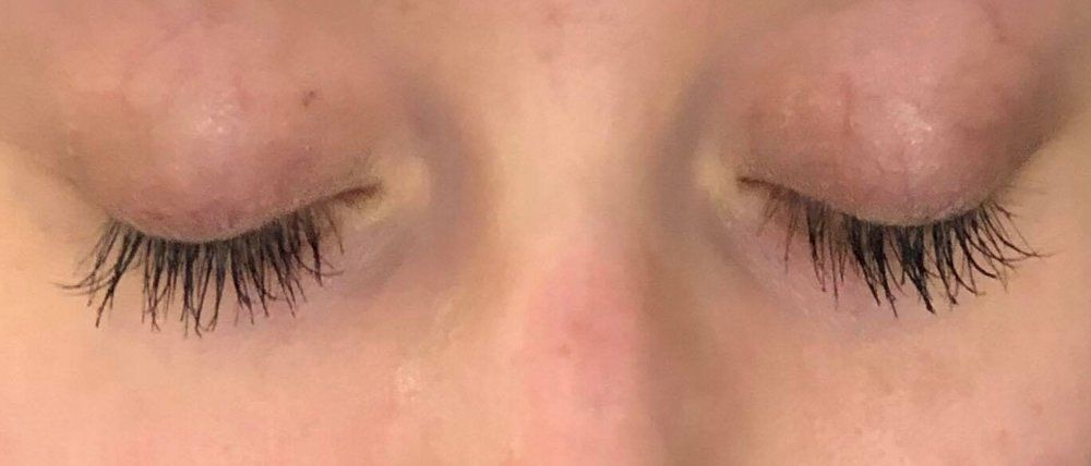 After - Wearing Mascara in this photo.