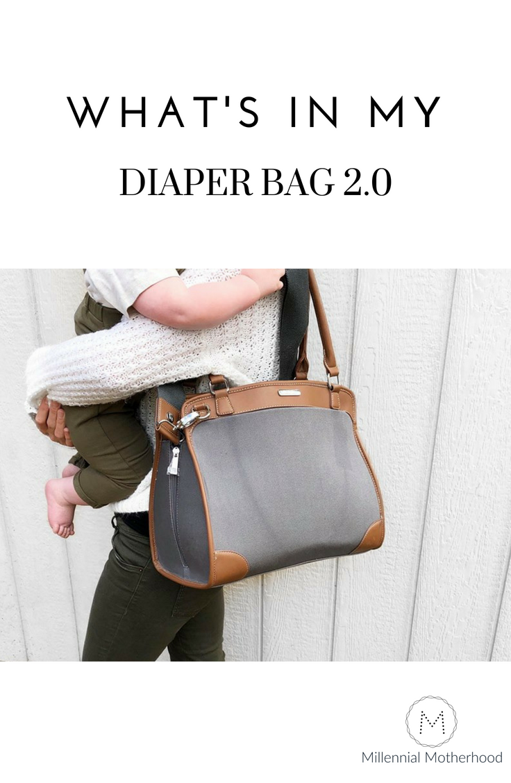 Millennial Motherhood - What's In My Diaper Bag 2.0
