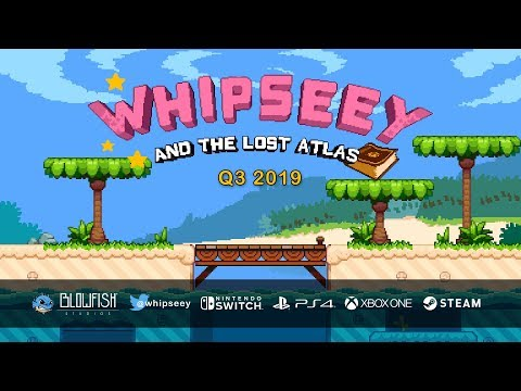 Whipseey and The Lost Atlas — Blowfish Studios | Indie Game