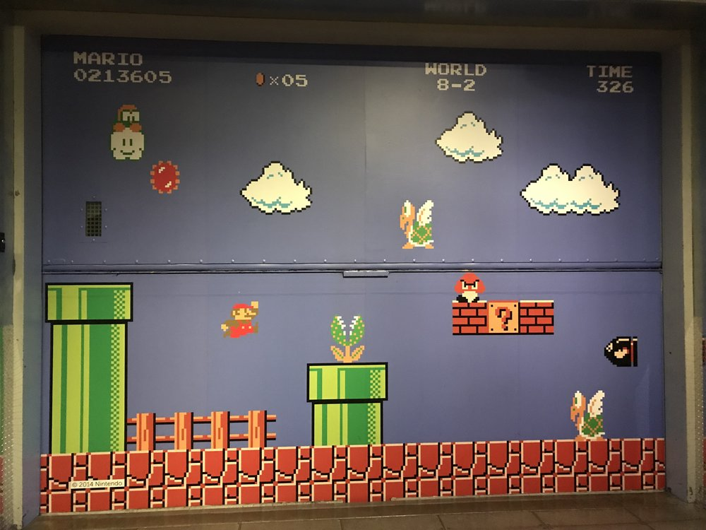 A mural on exhibit at the   Museum of Pop Culture   in Seattle, WA