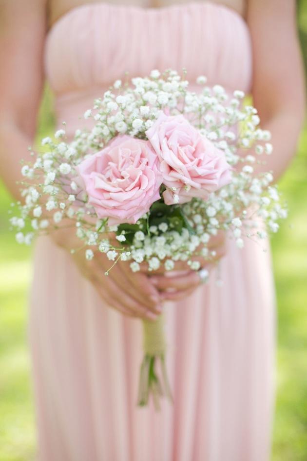 Rose & Gypsophila Bouquet
