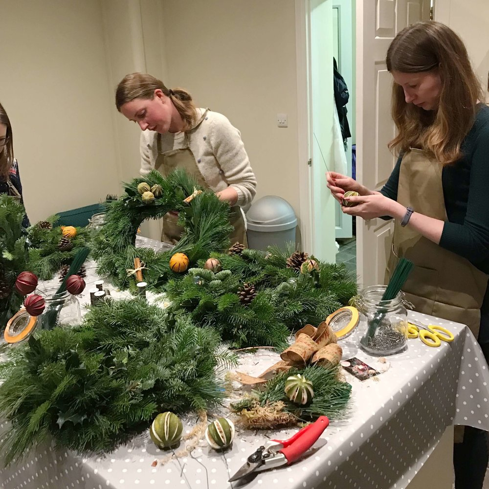 Private Christmas Wreath Making Workshop December 2018 (1).jpg