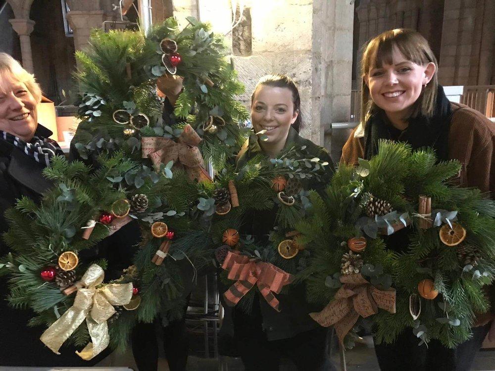 Christmas Wreath Making Workshop Ely Cambridgeshire 2nd December (9).jpg