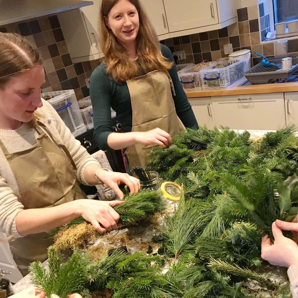 Private Christmas Wreath Making Workshop December 2018.jpg