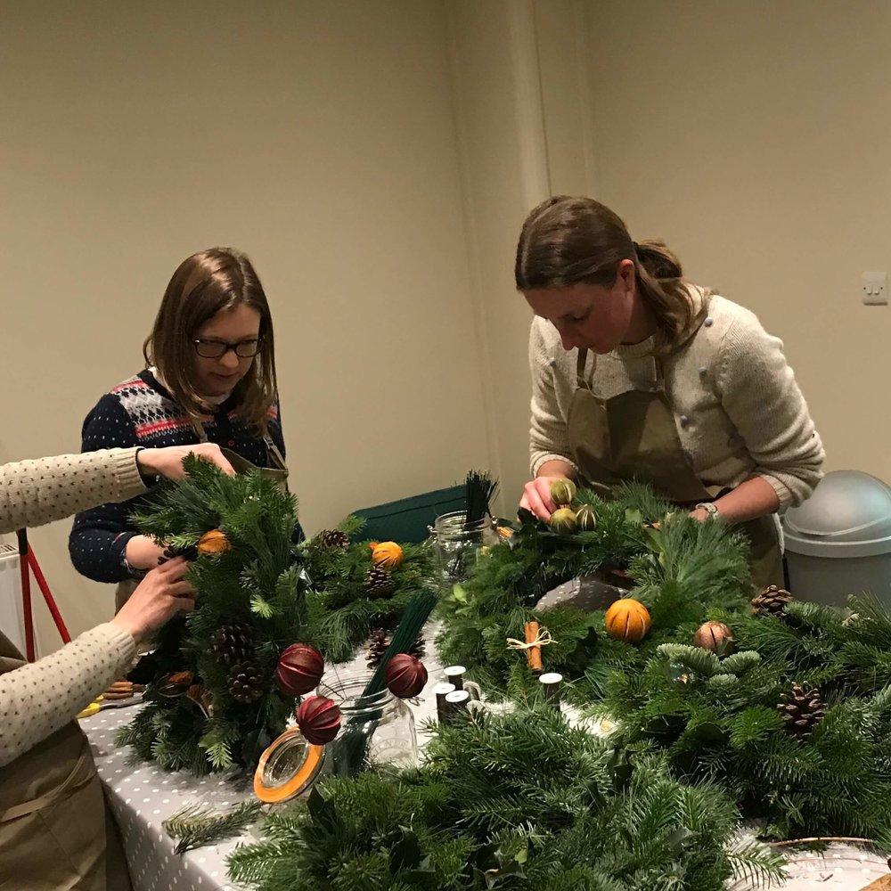 Private Christmas Wreath Making Workshop December 2018 (4).jpg