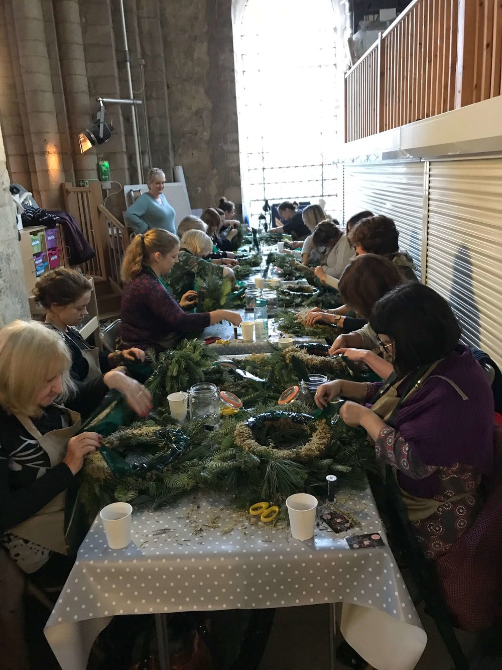 Christmas Wreath Making Workshop Ely Cambridgeshire 2nd December (1).jpg