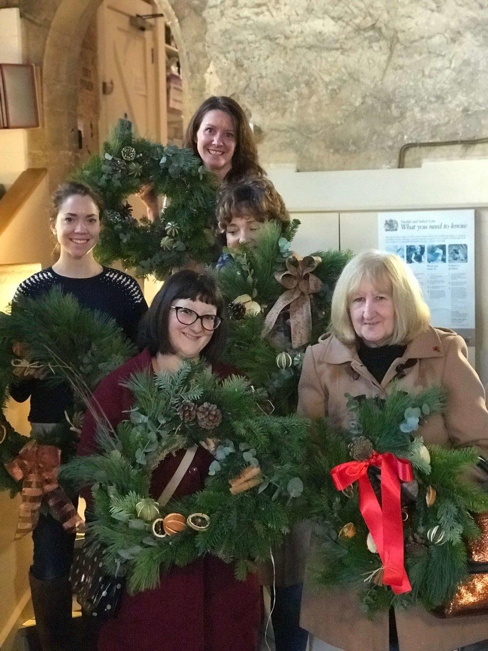 Christmas Wreath Making Workshop Ely Cambridgeshire 2nd December (3).jpg