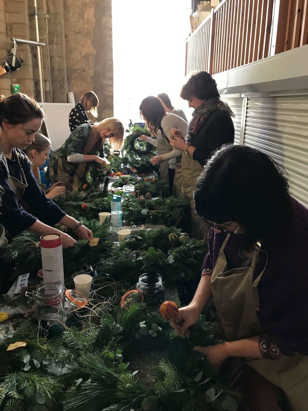 Christmas Wreath Making Workshop Ely Cambridgeshire 2nd December (2).jpg