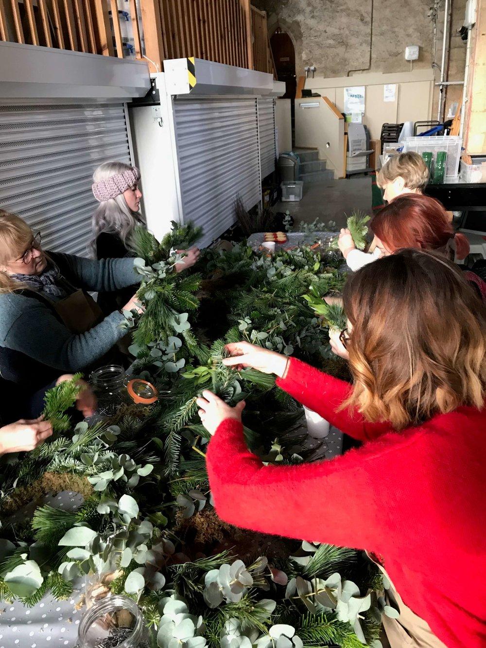 Christmas Wreath Making Workshop Ely Cambridgeshire 16th December (1).jpg