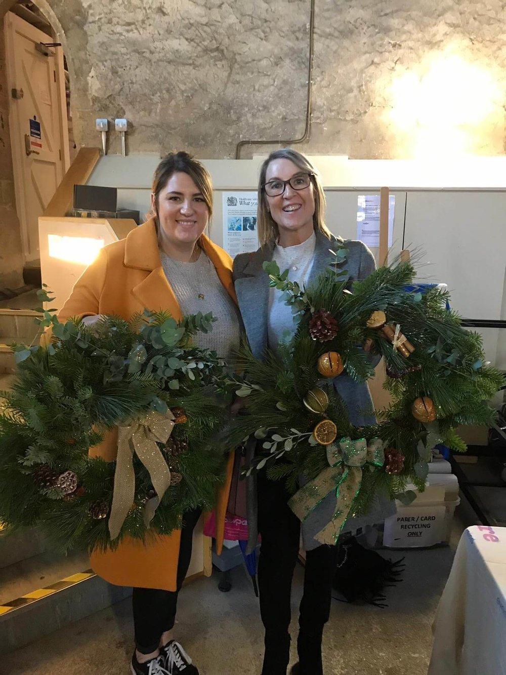 Christmas Wreath Making Workshop Ely Cambridgeshire 2nd December (7).jpg