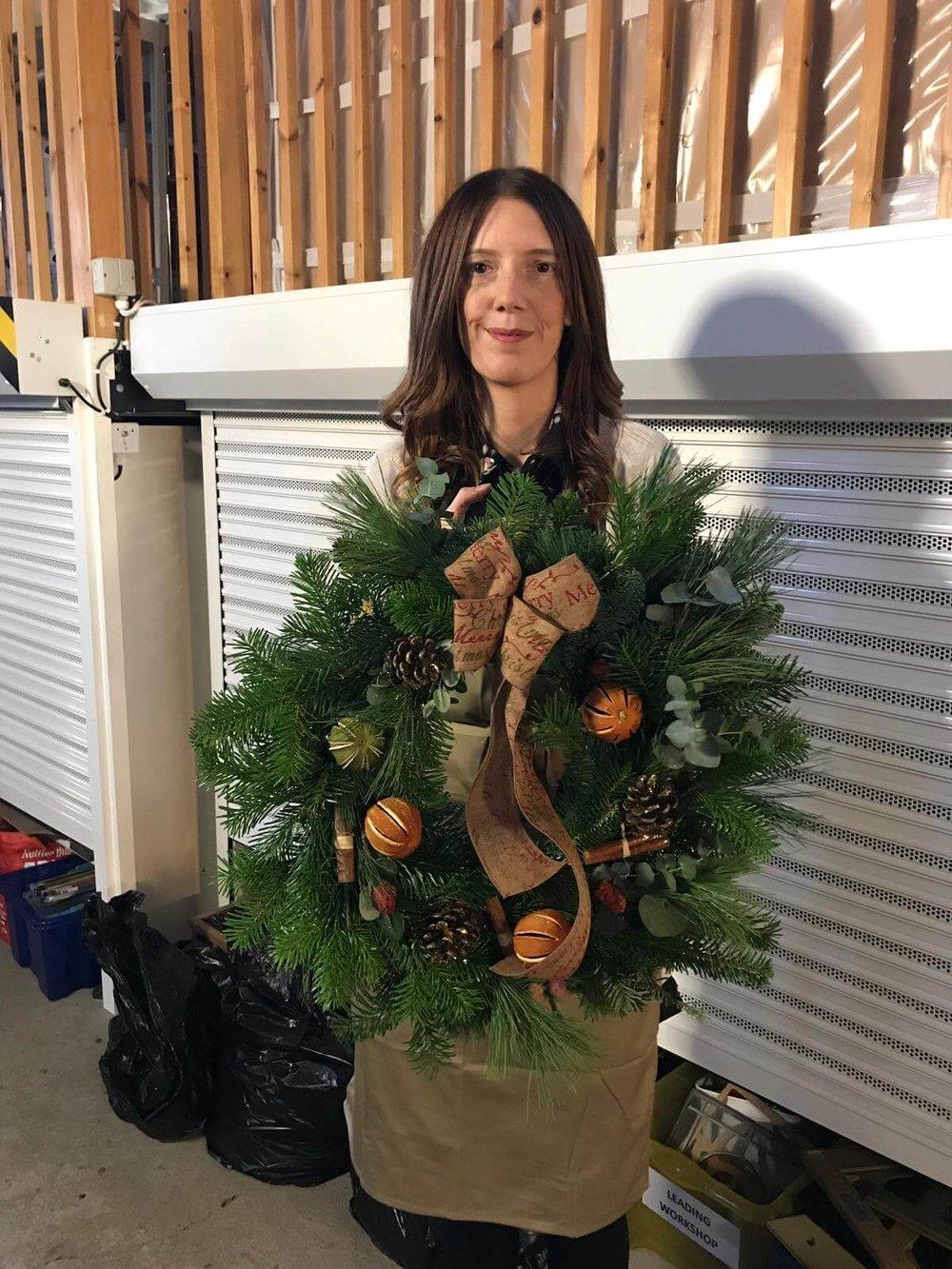 Christmas Wreath Making Workshop Ely Cambridgeshire 2nd December (8).jpg