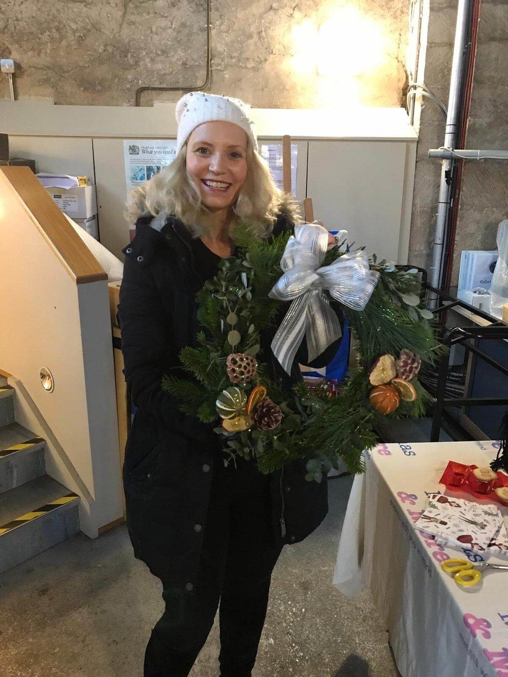 Christmas Wreath Making Workshop Ely Cambridgeshire 2nd December (5).jpg