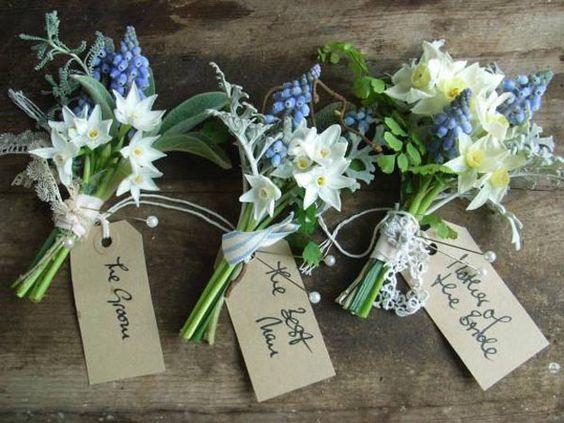 Daffodil Spring Wedding Flowers Bouquet