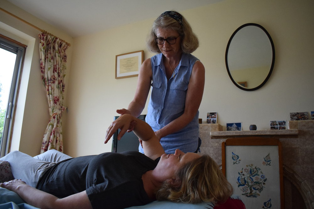 One to one Feldenkrais session - bespoke attention to the individual