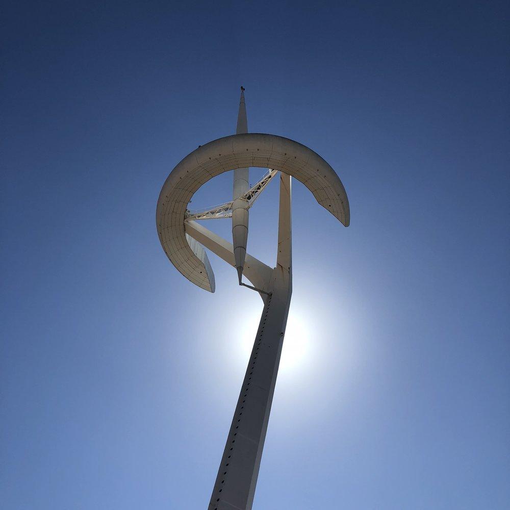 Montjuic Telecommunications Tower.