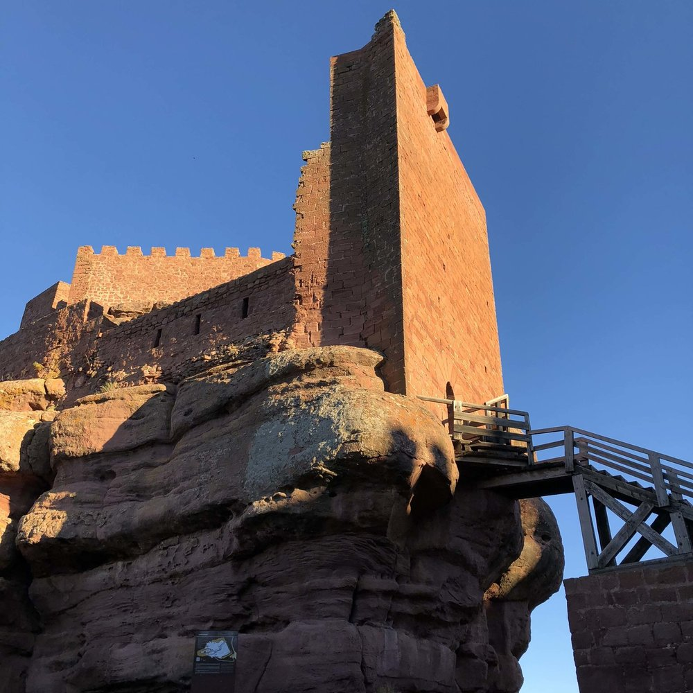 Castle tower of Peracense.