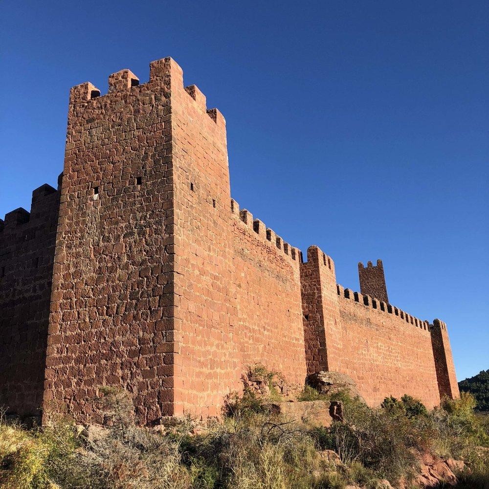 Castle walls of Peracense.