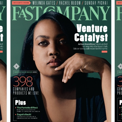 Arlan Hamilton, Founder and Managing Partner,  Backstage Capital    @arlanwashere