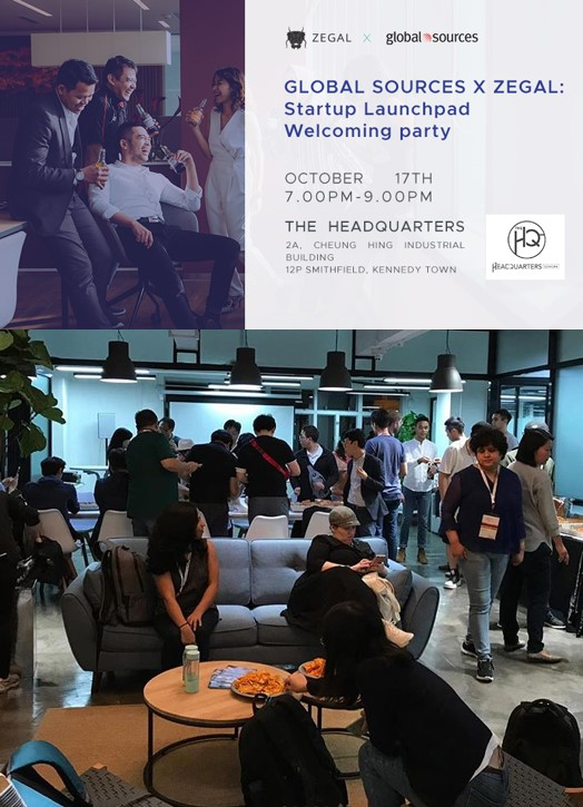 Private event - Startup Launchpad Welcoming party(by invitation only) - Wed 7pm-9pm on 17Oct2018