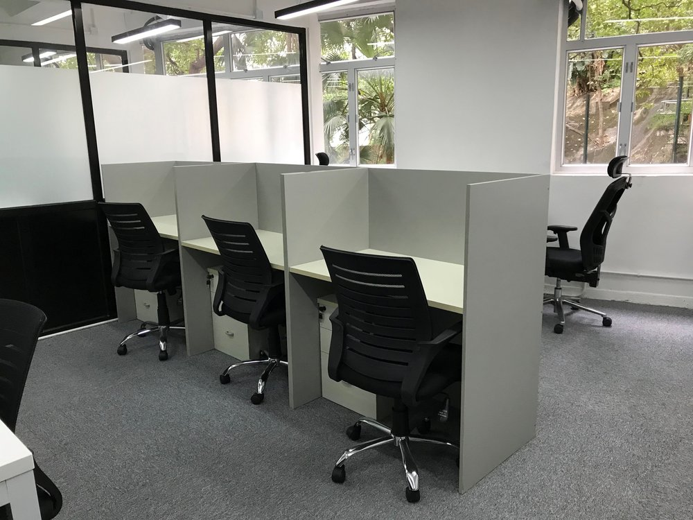 Fixed Desk   from HK$2,400/ month per person