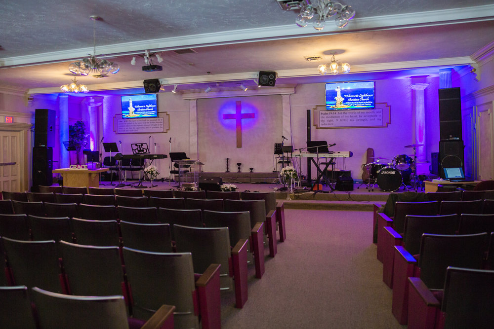 Our Sanctuary where we meet every Sunday and every Thursday.