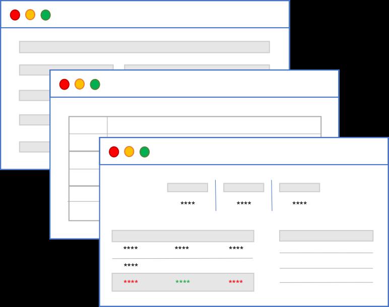 Due diligence en tiempo real - Conoce en todo momento el estado de tu cartera para poder anticipar los problemas.- Clasificación de la información de cada inmueble por áreas.