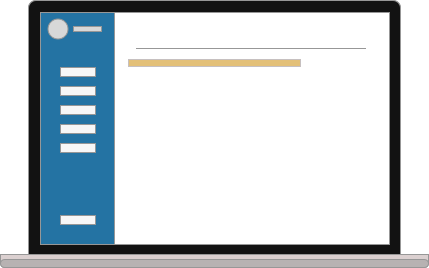 Acceso sin límites - Accede a toda la información y documentación de tu cartera desde una única plataforma.- Clasificación de la información de cada inmueble por áreas: económica, legal, técnica.- Control de documentos.- Información almacenada de forma segura.