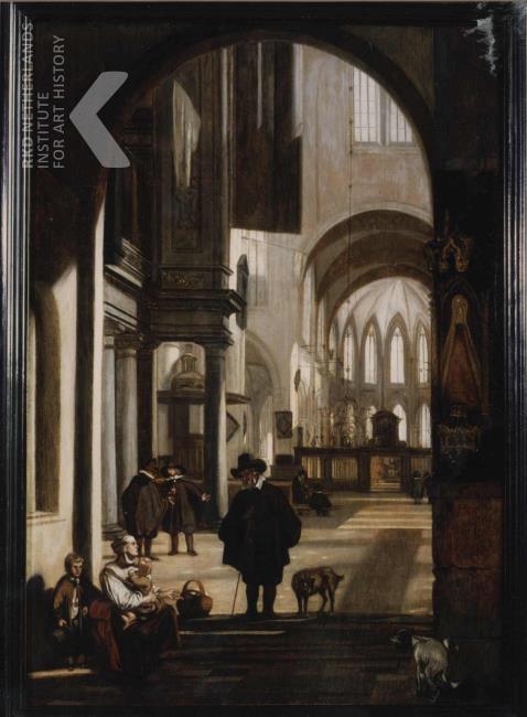 emanual de witte-kerkinterieur-met bedelaar-1660.jpg
