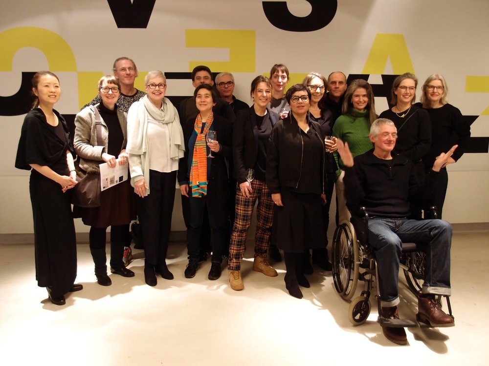 Group photo at the opening Sunday January 20 in PHK18, Rotterdam