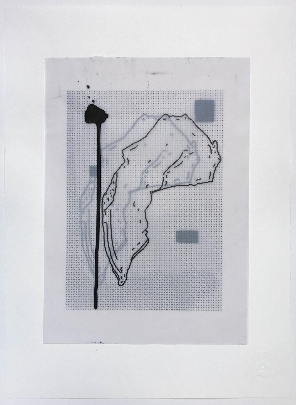 %22Corridas%22- Técnica mixta  - 42 x 30 cm - Julián Brangold - 2018.jpg