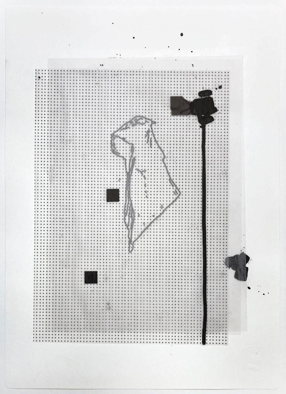 %22Destrozando la cabina%22- Técnica mixta  - 42 x 30 cm - Julián Brangold - 2018.jpg