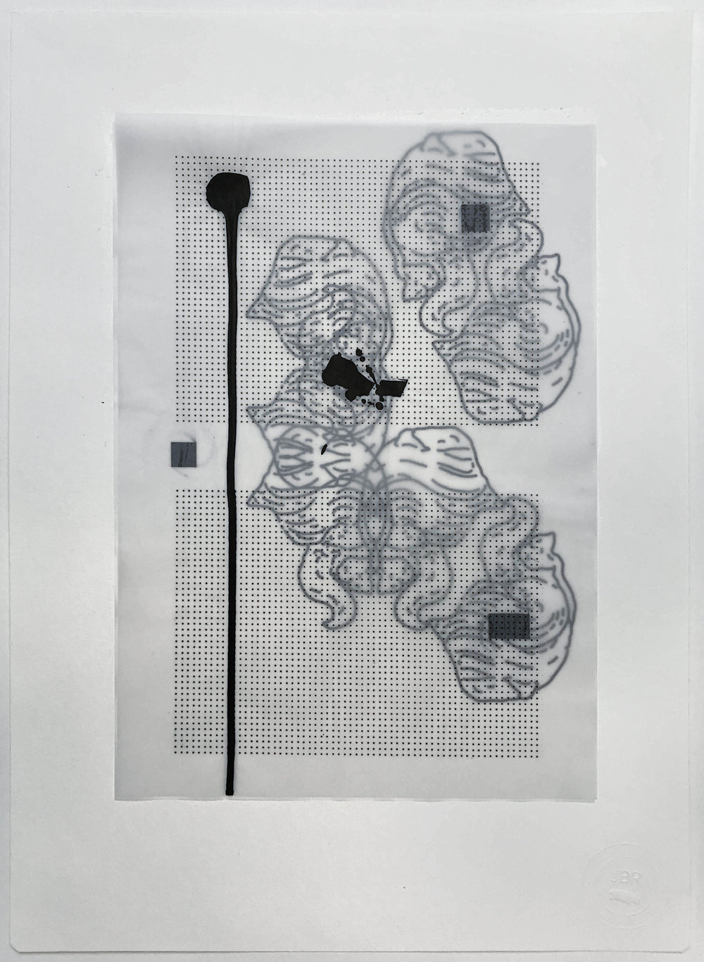 %22Nodo eterno%22- Técnica mixta  - 42 x 30 cm - Julián Brangold - 2018.jpg