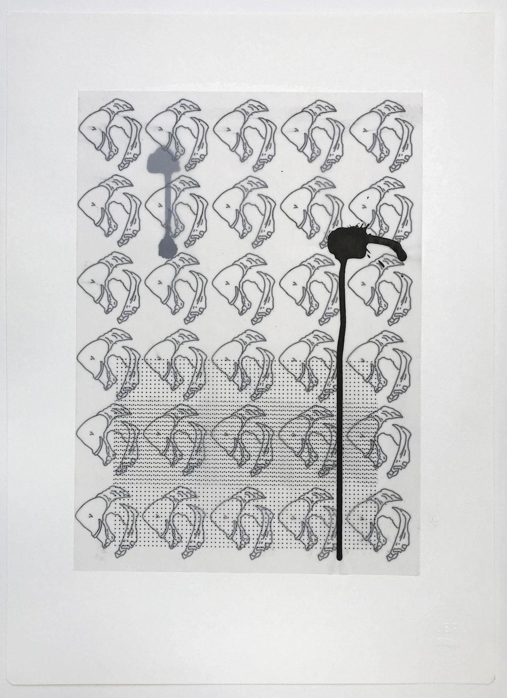 %22Observación de la frialdad%22- Técnica mixta  - 42 x 30 cm - Julián Brangold - 2018.jpg