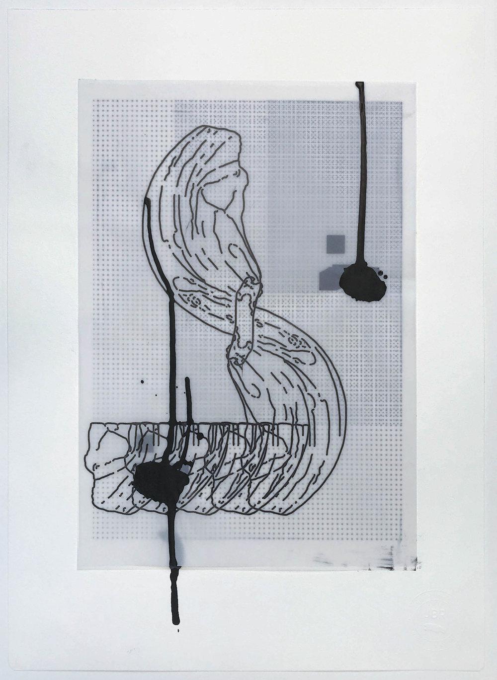 %22Pieza - Pedazo - Parte%22- Técnica mixta  - 42 x 30 cm - Julián Brangold - 2018.jpg