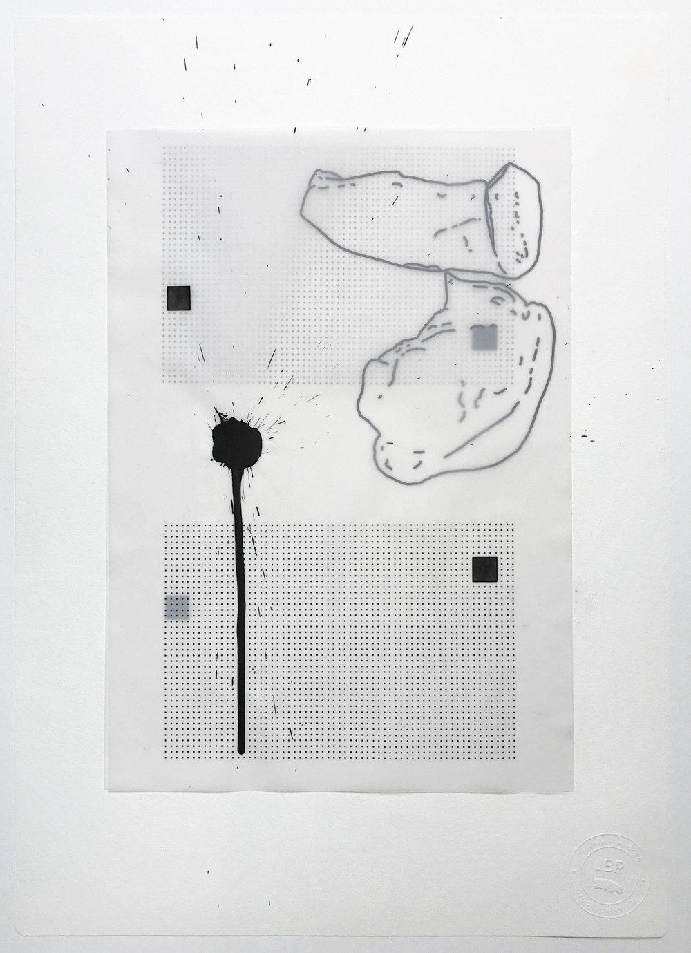 %22Quiebre parejo desparejo%22- Técnica mixta  - 42 x 30 cm - Julián Brangold - 2018.jpg