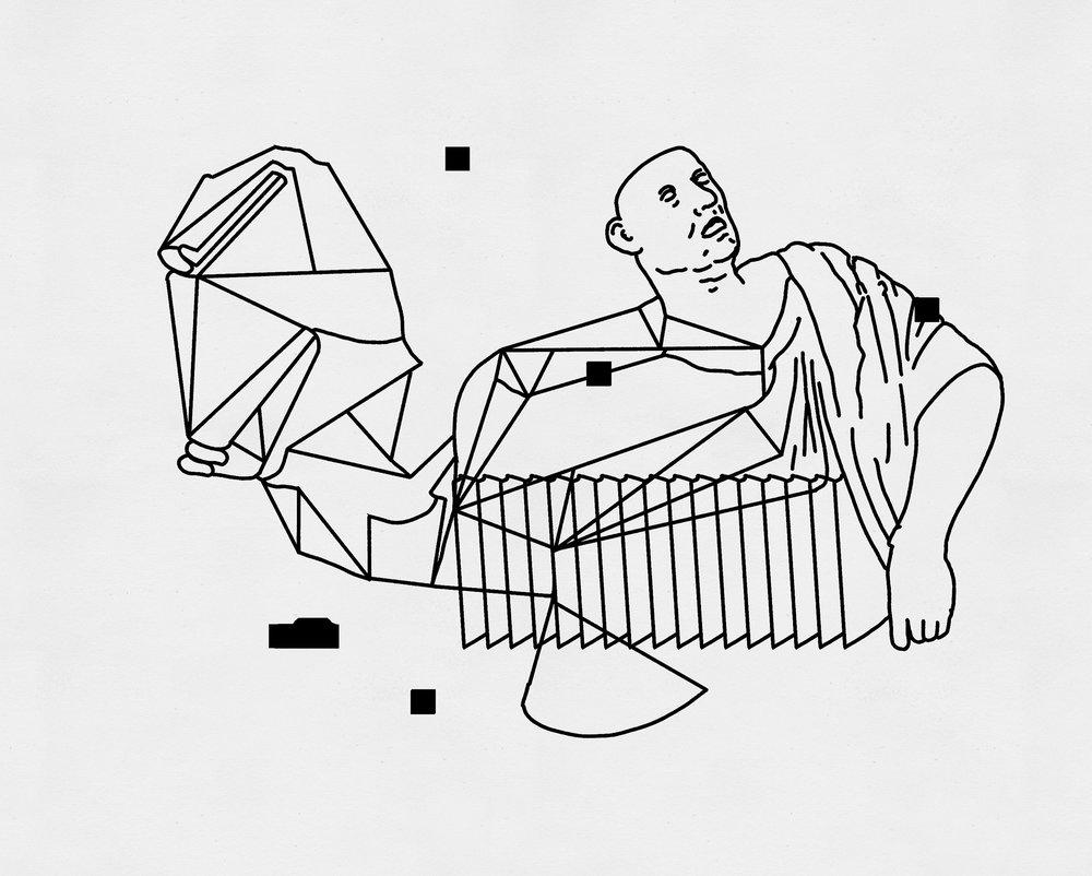 %22Amanecen, mueren%22 - 25 x 20 cm - Fine art print sobre papel - Julián Brangold - 2018.jpg