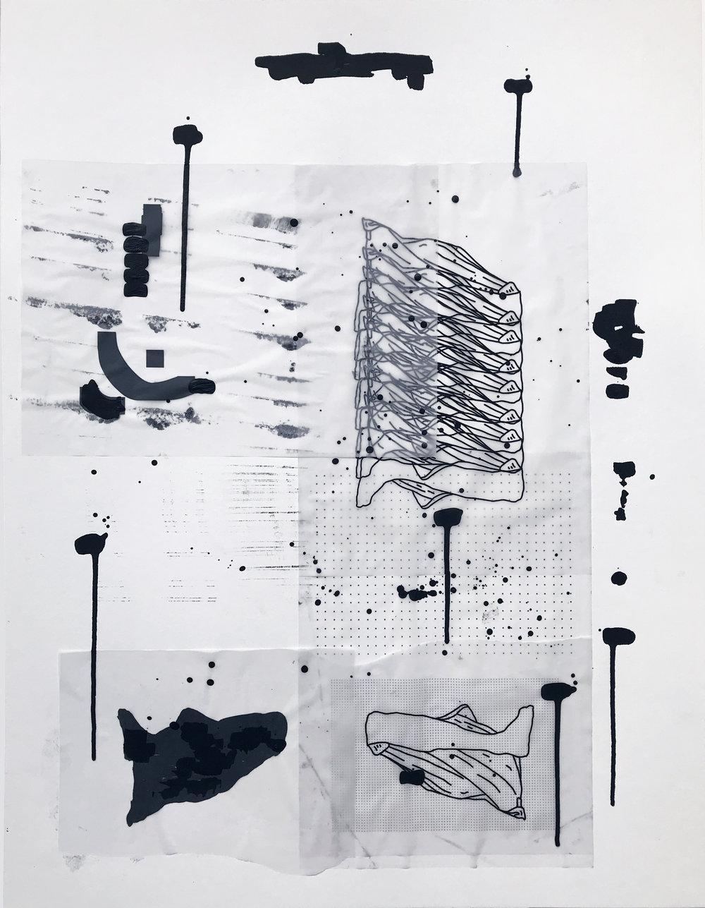 %22Detrás del espejo _ 12%22 - Técnica mixta sobre papel - 65 x 50 cm - Julián Brangold - 2018.jpg