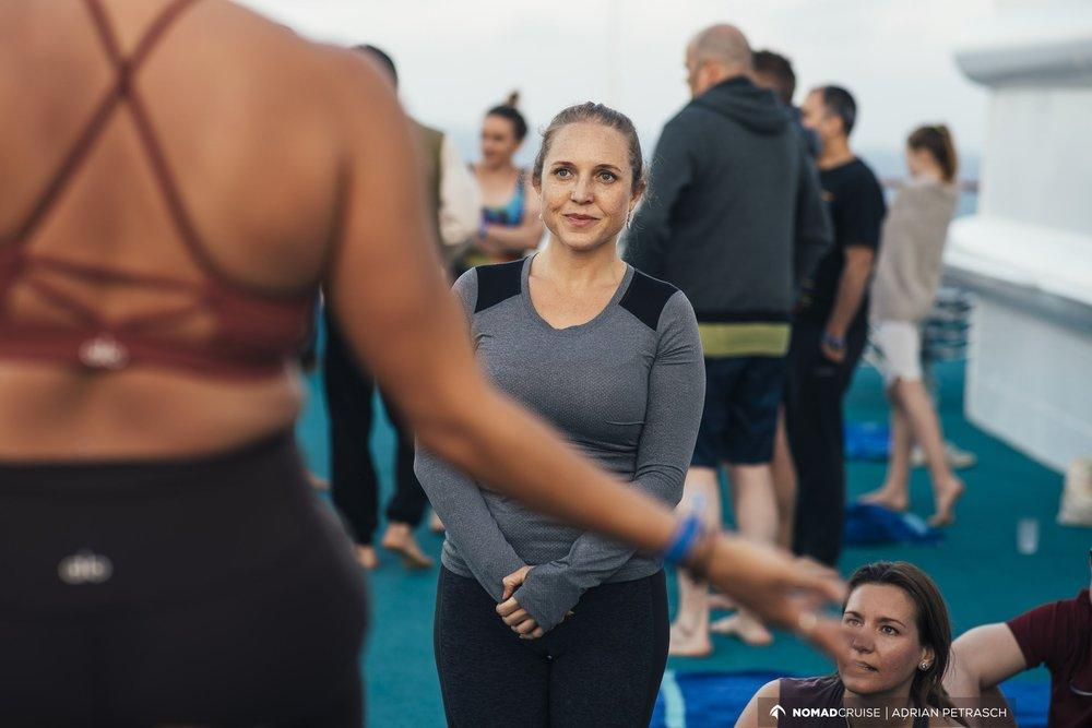 Kristin Wilson Acro Yoga Nomad Cruise