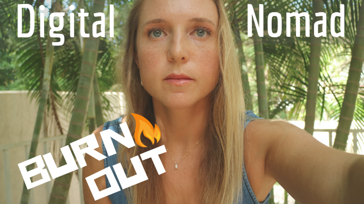 DIGITAL Nomad Burnout