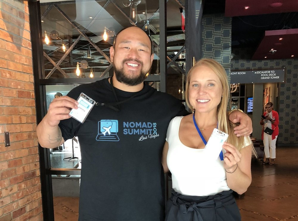 Nomad Summit 2018 Las Vegas with Johnny FD