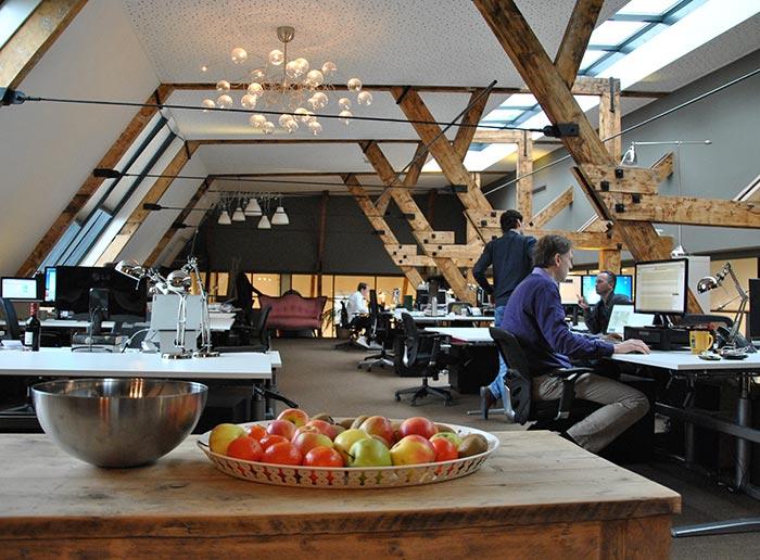 Boven de Balie Workspace