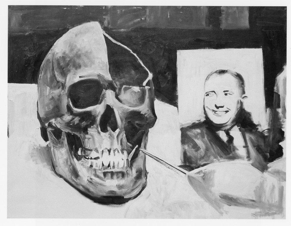 Martin Bormann's Skull (A)