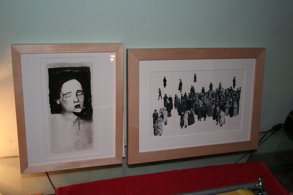 framed works