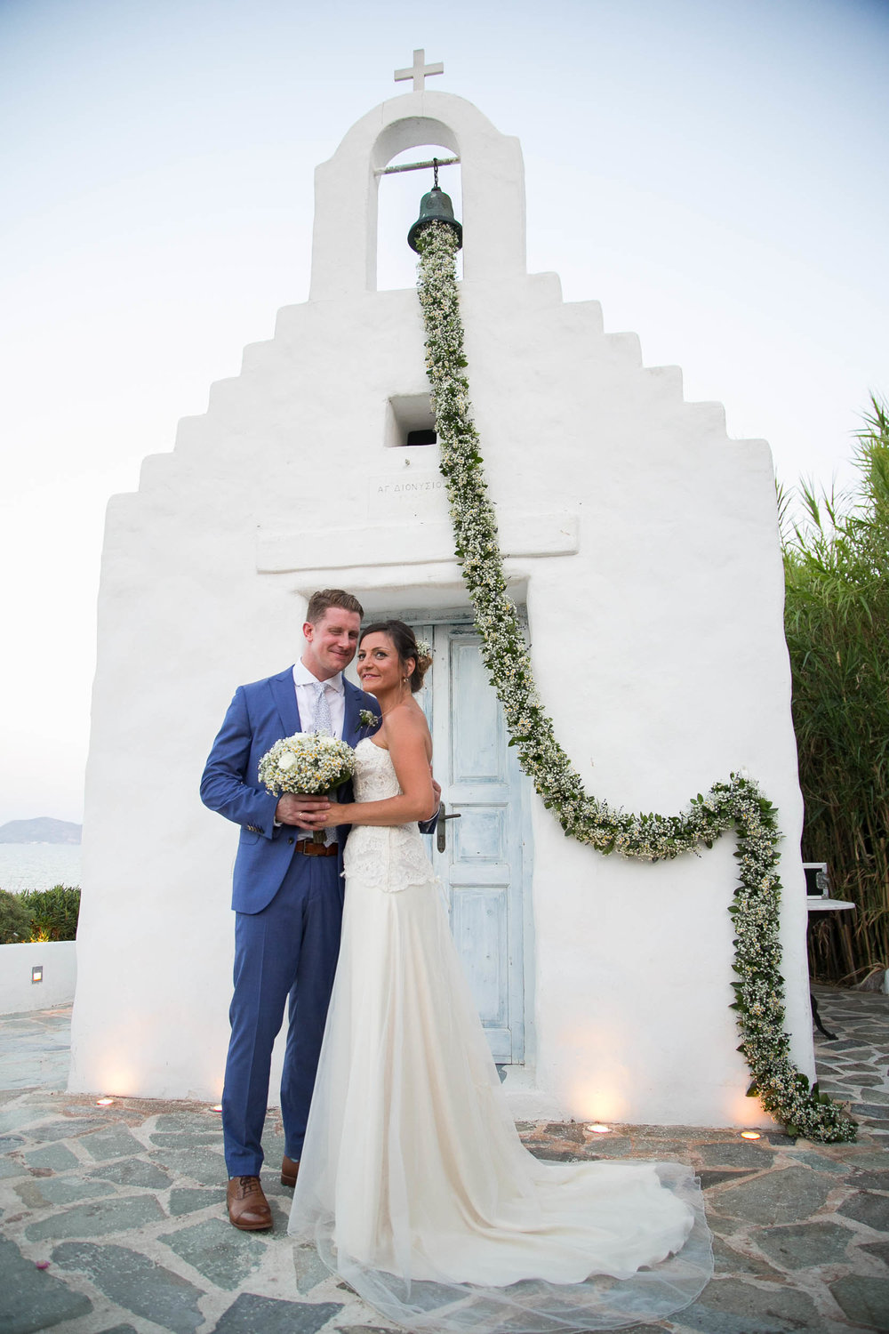 <h4>MARIANNA & ADAM</h4><h5>Wedding with a view at Island Athens</h5>