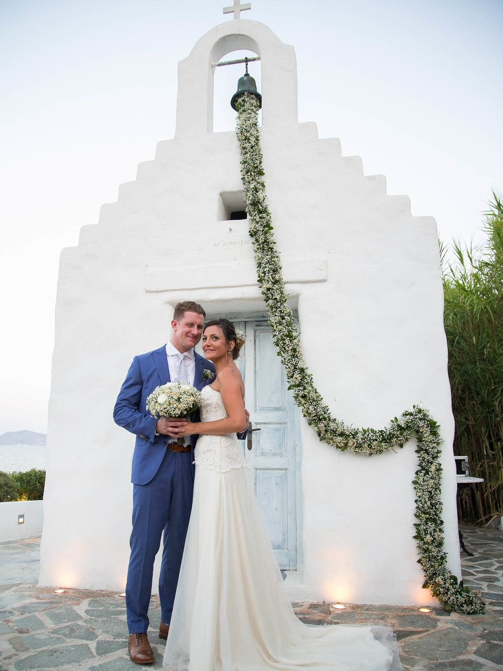 MARIANNA & ADAM - Γάμος με όμορφη θέα στο Island