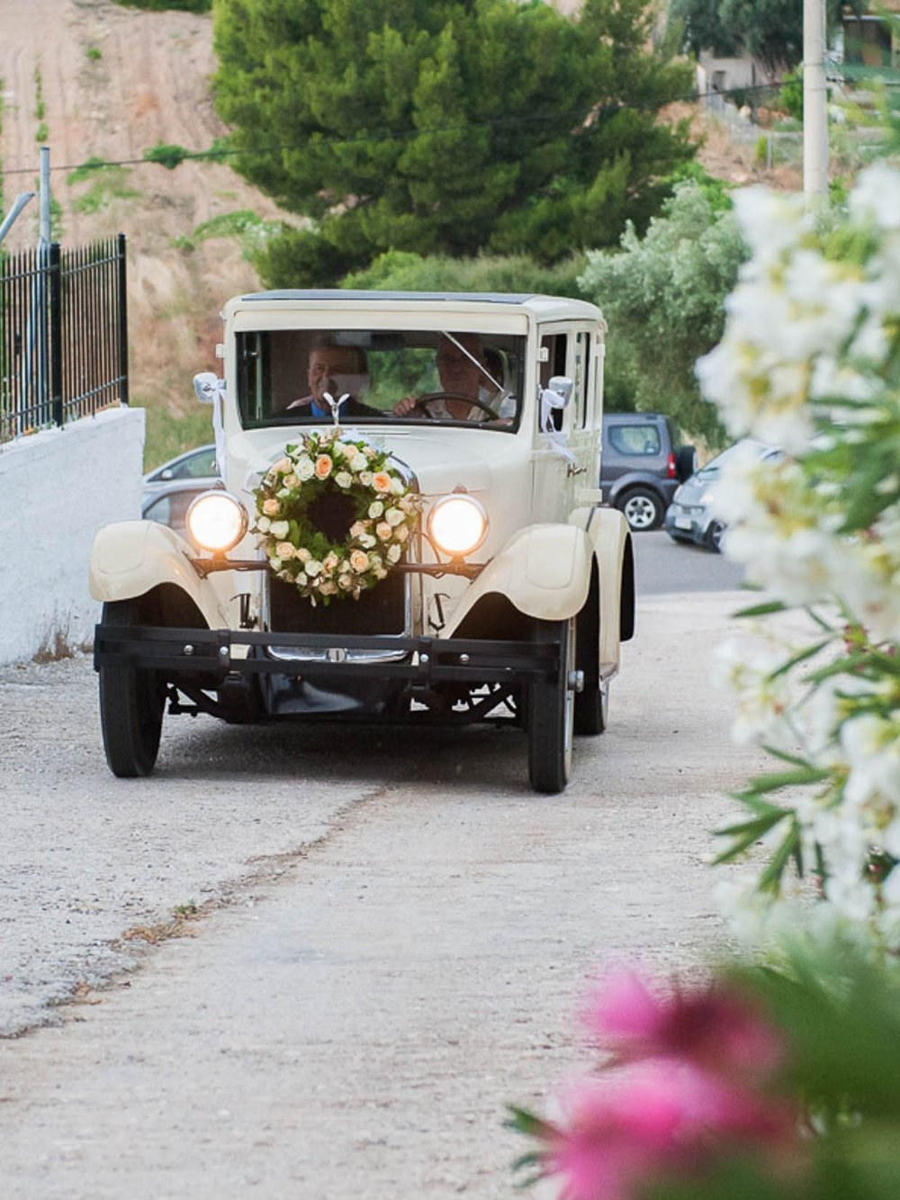 CONSTANTINE & FRANK - Vintage γάμος στο Κτημα Χατζή