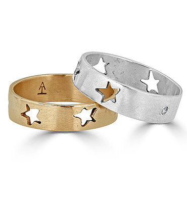 Be A Star Ring with Diamond Option