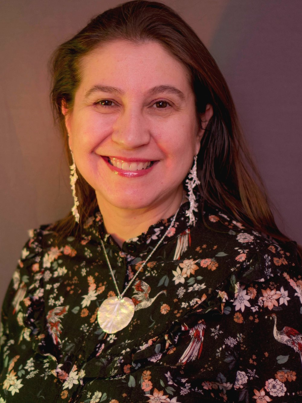 """""""Environment consciousness is built in the human system. My jewelry designs are infused with Mother Nature's beautiful shapes and textures. I give back to Mother Earth by supporting sustainable practices in my jewelry making. My clients tell me that I make gorgeous nature-themed pieces that call to them."""" - Sandrine Valentine"""