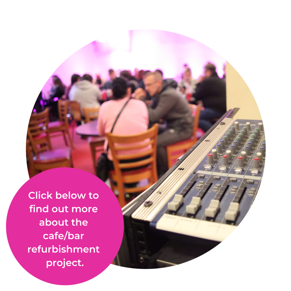 Click below to find out more about the cafe/bar refurbishment project.